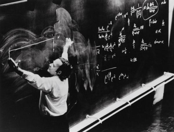 """>Richard Feynman: """"δεν θα μπορούσα να ζήσω χωρίς να διδάσκω"""""""