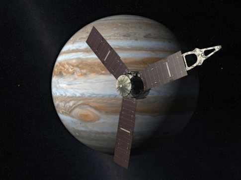 Η εξερεύνηση του Δία από τη διαστημική αποστολή Juno