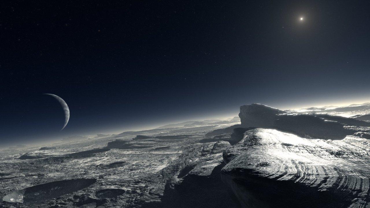 Αποτέλεσμα εικόνας για υπόγειος ωκεανός στον Πλούτωνα