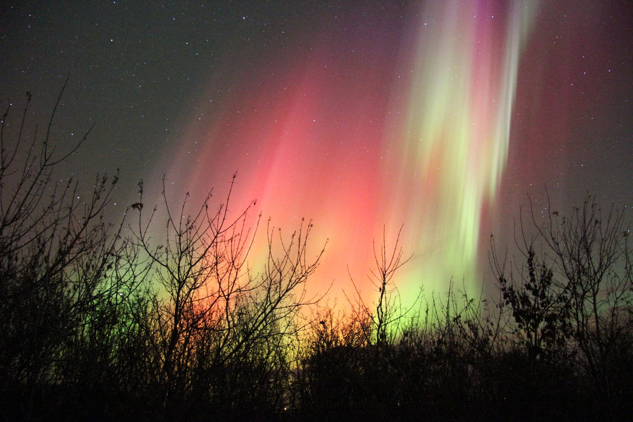 Northern Lights Ontario Canada