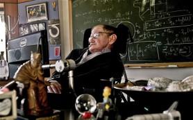 Ο καθηγητής Stephen Hawking στο γραφείο του στο Πανεπιστήμιο του Cambridge  Φωτογραφία: Sarah Lee / Μουσείο Επιστημών