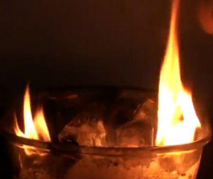 O πάγος που καίγεται. VIDEO