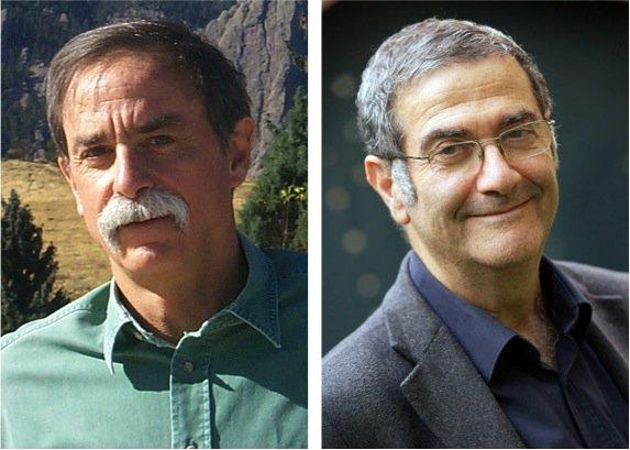 Οι David J. Wineland (αριστερά) και Serge Haroche (δεξιά) μοιράστηκαν το βραβε΄λιο Νομπελ Φυσικής 2012