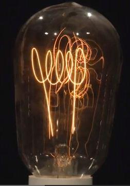 Επίδραση μαγνήτη στο νήμα λαμπτήρα πυρακτώσεως . VIDEO
