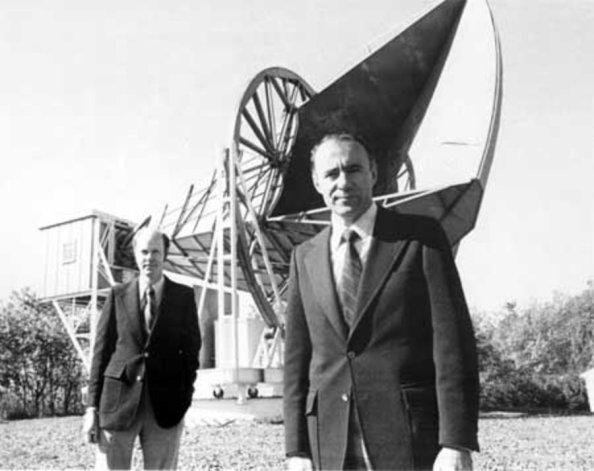 Arno A. Penzias und Robert Wilson