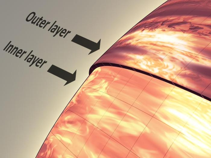 Τι καιρό κάνει λοιπόν σε έναν καφέ νάνο; Οπωσδήποτε νεφελώδη και μάλιστα με πυκνά καφετιά σύννεφα, όπως μπορείτε να δείτε στον πρώτο μετεωρολογικό χάρτη ενός τέτοιου ουράνιου σώματος που συντάχθηκε από τα δεδομένα των τηλεσκοπίων Spitzer και Hubble της NASA.