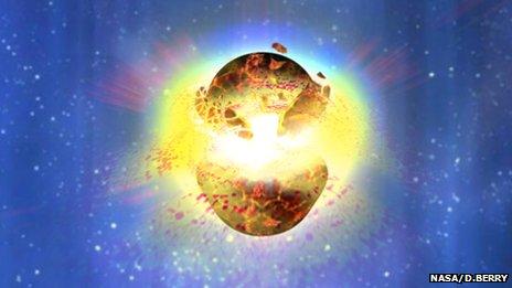 Εκρήξεις ακτίνων-γ μπορούν να συμβούν όταν συγχωνεύονται δύο αστέρες νετρονίων