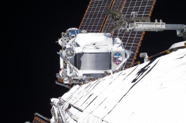 To Άλφα Μαγνητικό Φασματόμετρο ή AMS (Alpha Magnetic Sectrometer) στον Διεθνή Διαστημικό Σταθμό
