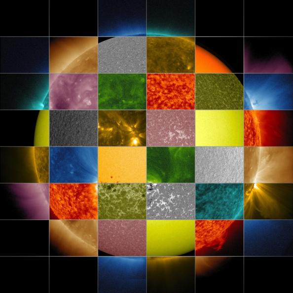 Πώς βλέπει η NASA από τον Ήλιο (Κάντε κλικ πάνω στην εικόνα για μεγέθυνση)