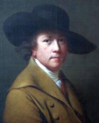 Joseph Wright, αυτοπροσωπογραφία (1780)