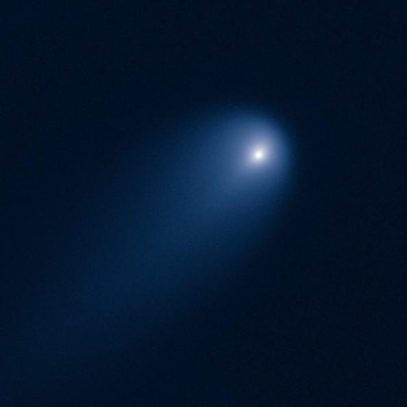 Το διαστημικό τηλεσκόπιο Hubble φωτογραφίζει τον κομήτη ISON στις 10 Απριλίου 2013, όταν αυτός απείχε 386 εκατομμύρια μίλια από τον ήλιο  CREDIT: NASA, ESA, J.-Y. Li (Planetary Science Institute), and the Hubble Comet ISON Imaging Science Team