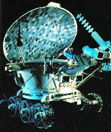 To όχημα Lunokhod 2 που έστειλε η Σοβιετική Ένωση το 1973 στη Σελήνη