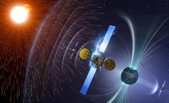 H ακτινοβολία επηρεάζει τους δορυφόρους στο διάστημα. ESA / SSA