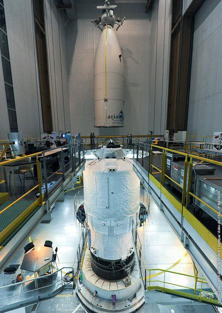 Το ATV-4 έτοιμο για εκτόξευση