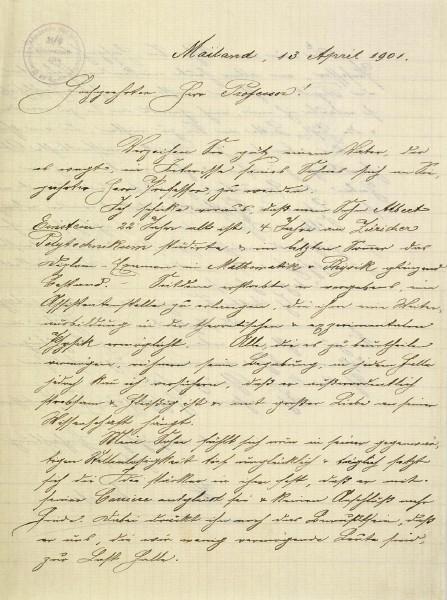 einstein_Hermann_letter