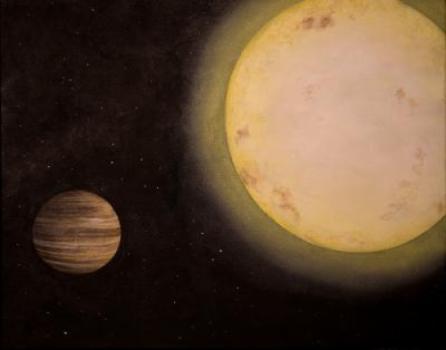 Καλλιτεχνική απεικόνιση του εξωπλανήτη KELT-6b (Credit: Rendering by Lexington, KY-based artist Erin Plew of Queen of Arts LLC, courtesy of Vanderbilt University)