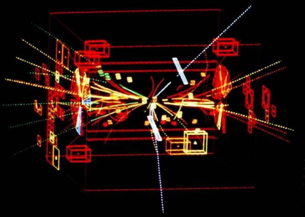 Η εικόνα λήφθηκε κατά τη διάρκεια του πειράματος UA1 στο CERN στις 30 Απριλίου 1983 και αργότερα επιβεβαιώθηκε ότι πρόκειται για την πρώτη ανίχνευση ενός σωματιδίου Ζ.