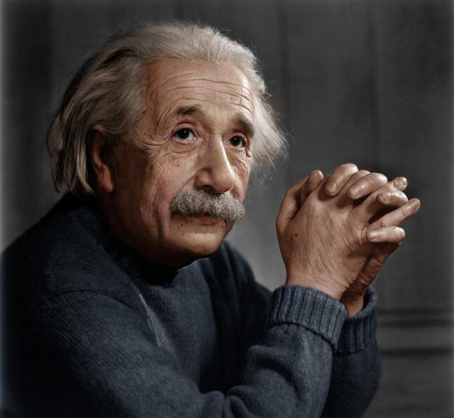 Yousuf Karsh: Albert Einstein, 1948