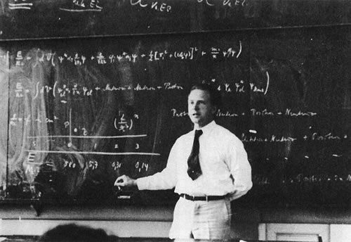 Werner Heisenberg (Photo Credit: Bob Gardner)