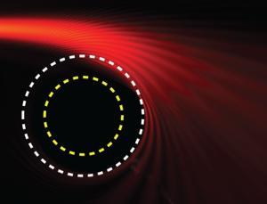 """Κάμψη του φωτός από την """"μαύρη τρύπα""""  στο εργαστήριο"""