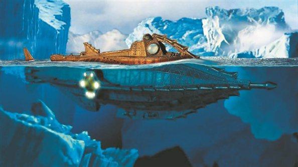 Το υποβρύχιο «Ναυτίλος» του πλοιάρχου Νέμο σε σύγχρονη έγχρωμη απόδοση