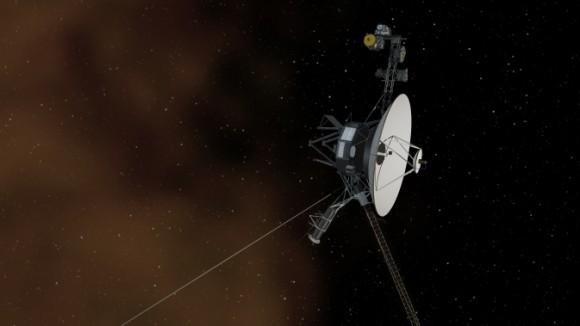 Μια καλλιτεχνική άποψη του Voyager 1
