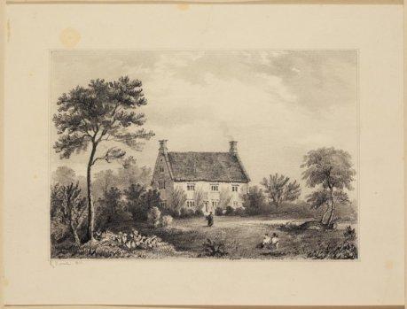 To πατρικό σπίτι του Νεύτωνα στο Γούλσθροπ