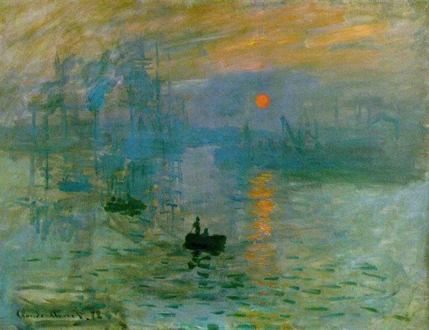 «Εντύπωση (impression) - ανατολή», ο πίνακας του Μονέ που έδωσε το όνομα στο καλλιτεχνικό ρεύμα του ιμπρεσιονισμού