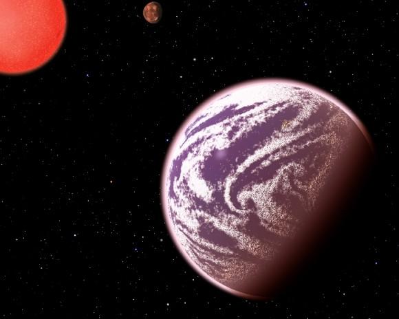 Καλλιτεχνική απεικόνιση του αέριου εξωπλανήτη KOI-314c