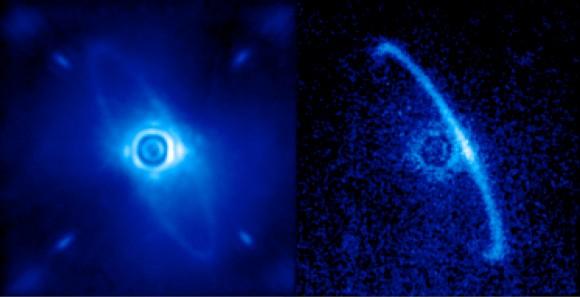 Ο δίσκος σκόνης γύρω από το άστρο HR4796A