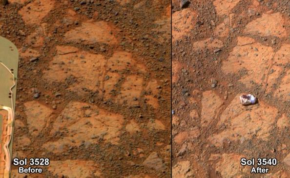 Πριν (αριστερά): 26 Δεκεμβρίου 2013 – Μετά (δεξιά): 8 Ιανουαρίου του 2014