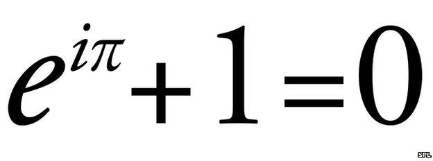 Στην παραπάνω εξίσωση περιέχεται η μονάδα των πραγματικών αριθμών, η μονάδα των φανταστικών αριθμών, το μηδέν, ο αριθμός π και ο αριθμός e και γι' αυτό θεωρείται ως η πιο όμορφη εξίσωση του κόσμου!