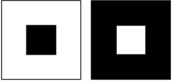 To άσπρο τετράγωνο σε μαύρο φόντο φαίνεται μεγαλύτερο από το ισομεγέθες μαύρο τετράγωνο. Το ίδιο συμβαίνει με την Αφροδίτη.