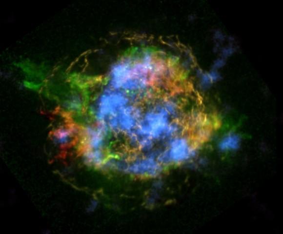 H αποστολή NuSTAR της NASA αποκαλύπτει τον μηχανισμό της έκρηξης του σουπερνόβα Κασσιόπεια Α σε απόσταση 11 χιλιάδων ετών φωτός από εμάς