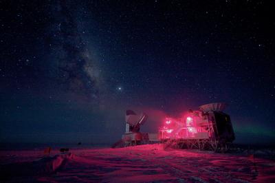 To τηλεσκόπιο BICEP2 στο νότιο πόλο