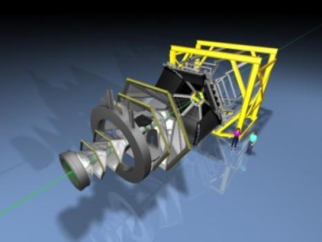 To πείραμα HADES  High-Acceptance Di-Electron Spectrometer) στο Darmstadt στη Γερμανία ψάχνει για σκοτεινή ύλη