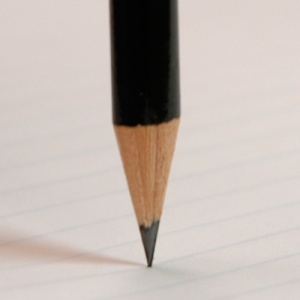 ένα μολύβι στην θέση ασταθούς ισορροπίας