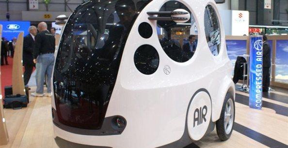 AirPod: Το τρίτροχο όχημα που καίει συμπιεσμένο αέρα . VIDEO