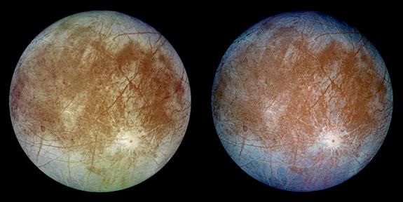 Η Ευρώπη, με μέγεθος ανάλογο της Σελήνης, είναι ο φιλικότερος κόσμος ως προς το ενδεχόμενο ανάπτυξης ζωής, καθώς παλαιότερες μετρήσεις του διαστημικού σκάφους Galileo έχουν υποδείξει ένα πιθανό υπόγειο στρώμα νερού, πάχους 80 με 150 χιλιομέτρων.