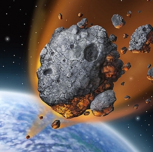 asteroid-falling
