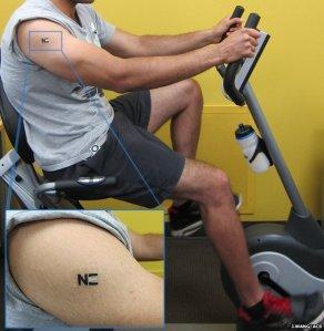 Βιο-μπαταρία τατουάζ