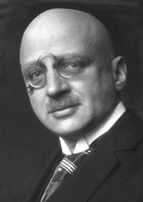 Ο Φριτς Χάμπερ σε ηλικία 50 ετών (1918)