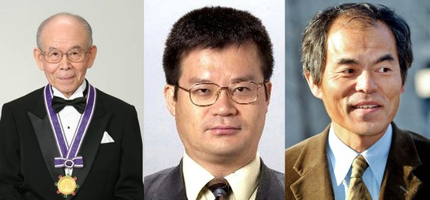 Professors Akasaki, Amano and Nakamura made the first blue LEDs in the early 1990s