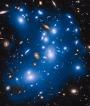 To γαλαξιακό σμήνος  Abell 2744 ή σμήνος της Πανδώρας
