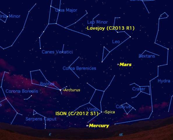 mercury-comets-ison-lovejoy-sky-map