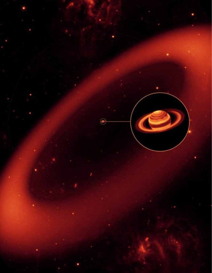 Καλλιτεχνική απεικόνιση του δακτυλίου
