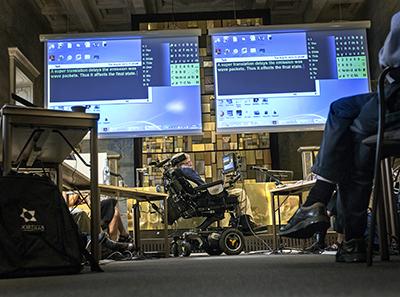 Η παρουσίαση του Hawking έγινε στο KTH Royal Institute of Technology