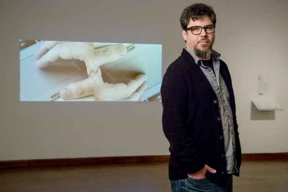 Ben Grosser - video artist at Krannert Art Museum