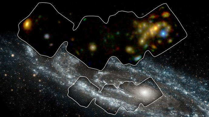 """Η """"ακτινογραφία"""" του γαλαξία Ανδρομέδα από το διαστημικό τηλεσκόπιο NuStar"""