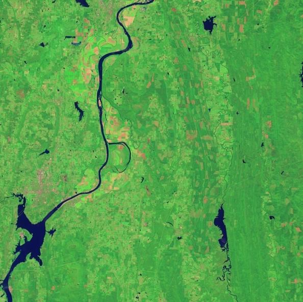 B: ποταμός Arkansas - Holla Bend Wildlife Refuge